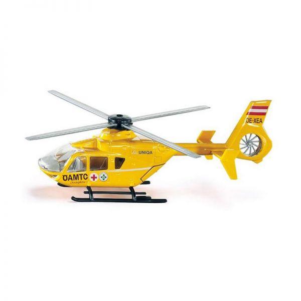 """Siku 2539 Rettungs-Hubschrauber """"ÖAMTC Österreich"""" gelb Maßstab 1:55"""