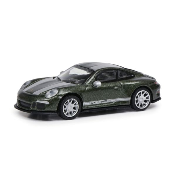 Schuco 452660100 Porsche 911 (991) R dunkelgrün metallic Maßstab 1:87