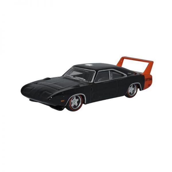 Oxford 230295 Dodge Charger Daytona schwarz/rot Maßstab 1:87