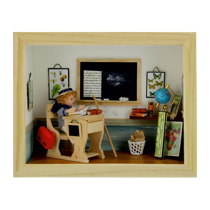 SA-Dollshouse D80638 Miniatur Mikroskop schwarz 1:12 für Puppenhaus NEU!#