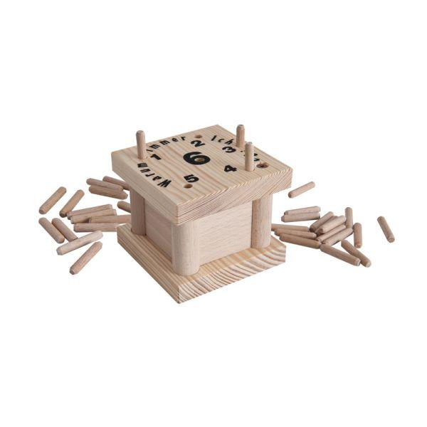 """Bartl 2809 Würfelspiel """"Warum immer ich?"""" rechteckig Holz"""