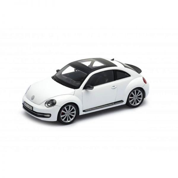 Welly 24032 VW Beetle weiss Maßstab 1:24 Modellauto