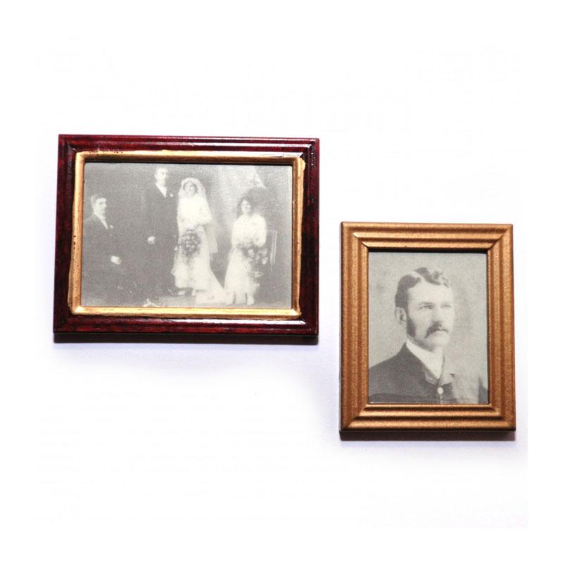 SA-Dollshouse D1181 Bilderset mit Bilderrahmen (2 St.) 1:12 für ...