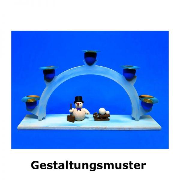 """Egermann 15937 Bastel-Set """"Schwibbogen"""" natur"""