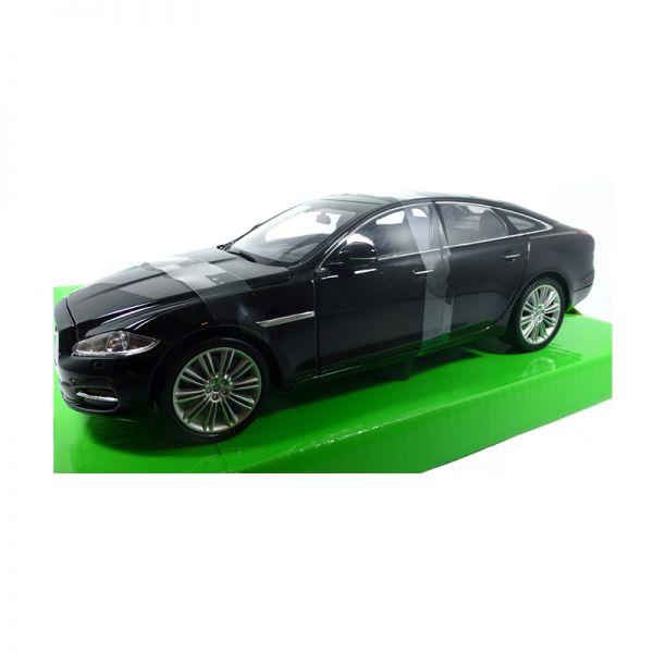 Welly 22517 Jaguar XJ schwarz Maßstab 1:24 Modellauto
