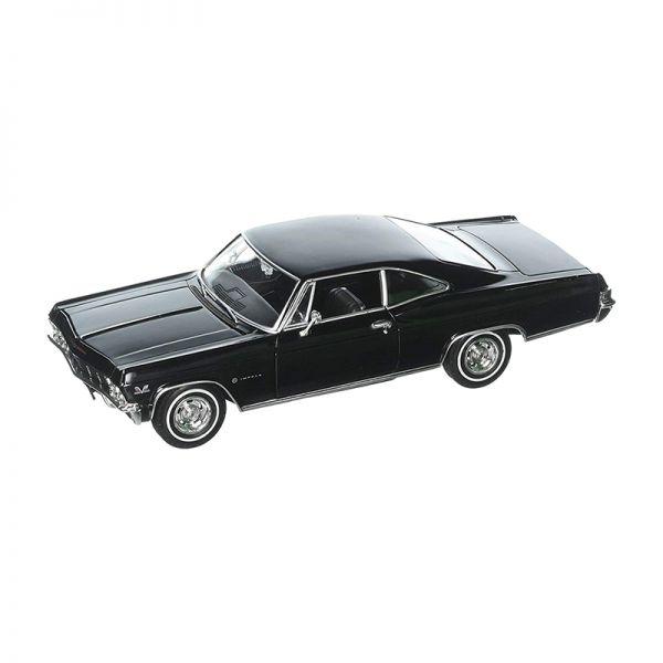 Welly 22417 Chevrolet Impala SS 396 schwarz Maßstab 1:24 Modellauto