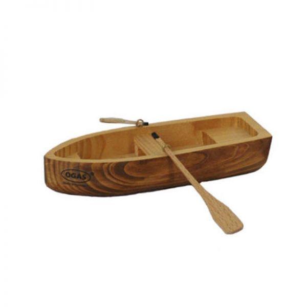 Ogas 2060 Ruderboot Holzboot mit 2 Ruder (3120) aus Holz