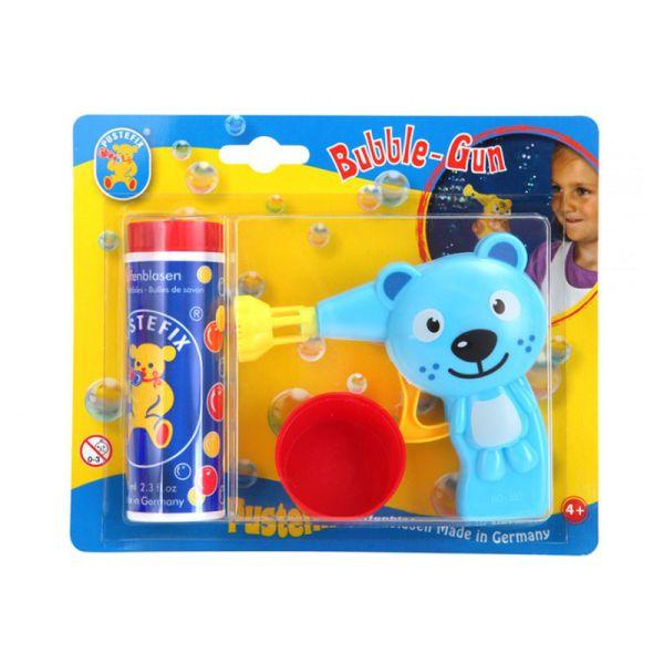 """Pustefix 869-410 Bubble Gun """"Katze"""" + 70ml Seifenblasen Fluid"""