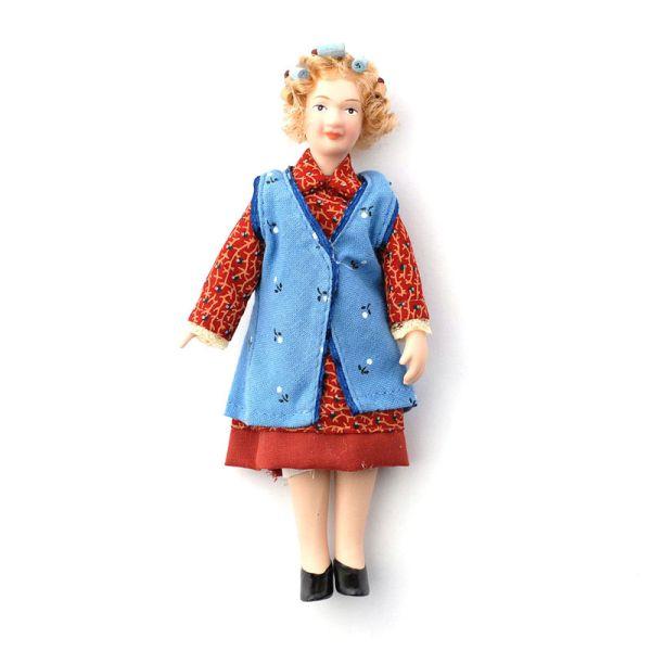 """Dolls House 5782 Puppe """"Grandma Enid"""" Oma Großmutter 1:12 für Puppenhaus"""